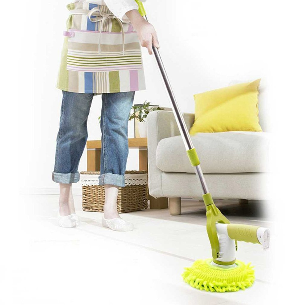 HSTV 360 Degrees Rotating Electric Mop Household Use Charging Cleaning Brush Cleaning Window Floor Automatic Mop