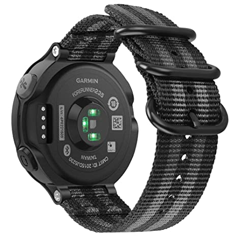 FINTIE Bracelet pour Garmin Forerunner 235/220 / 230/620 / 630 / 735XT Montre de Running GPS: Amazon.fr: High-tech