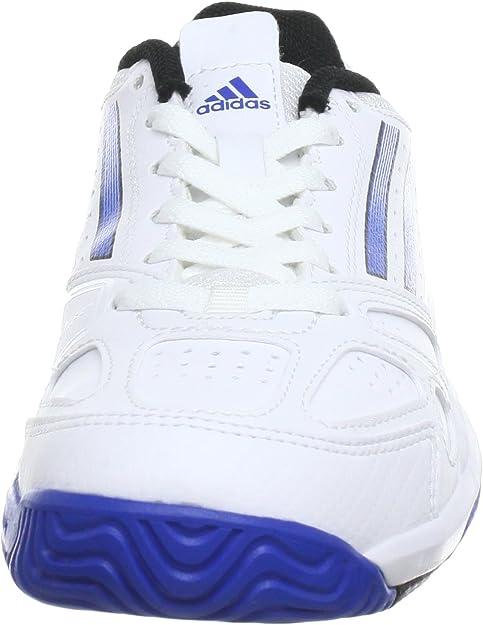 adidas Performance Galaxy Elite 2 K (Tennis) - Zapatillas De Tenis de material sintético infantil, blanco - Weiß (RUNNING WHITE FTW / BLUE BEAUTY F10 / BLACK 1), 28: Amazon.es: Zapatos y complementos