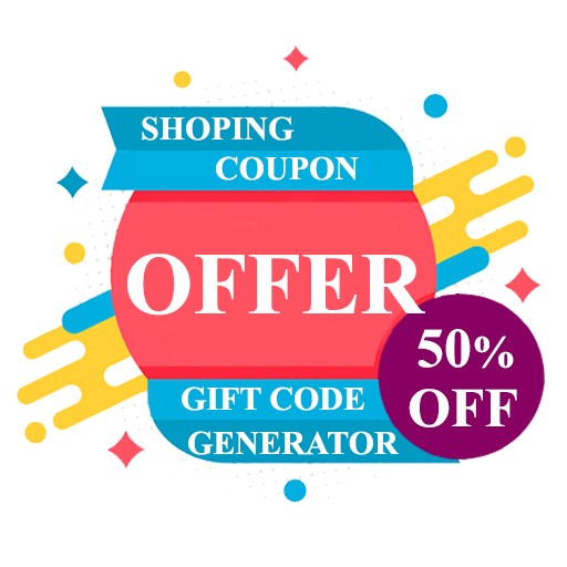 Gift | Coupon | Shopping Code Generator 2019