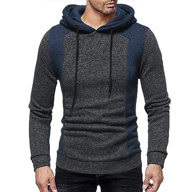 Longra Herren Strickpullover Feinstrick Pullover Sweater