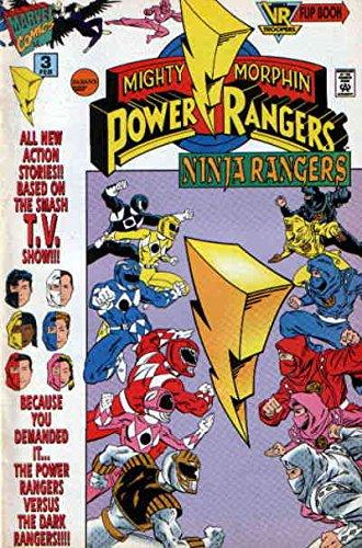 Mighty Morphin Power Rangers: Ninja Rangers/VR Troopers #3 FN ; Marvel comic book