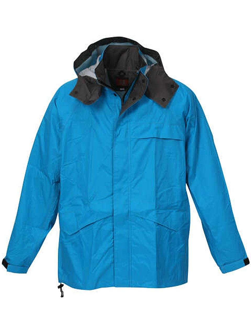 (ラグタイム セレクト) Ragtime Select 合羽 レインウエア レインジャケット 大きいサイズ メンズ 雨具 作業着 作業服 雨 C300419-01 B07CH3BJZN 4L ターコイズ ターコイズ 4L