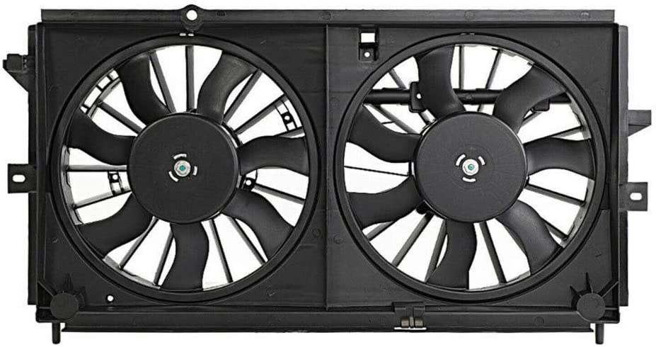 For Chevy Impala/Monte Carlo A/C Radiator Fan Assembly 2000 2001 2002 2003 Heavy Duty Cooling For GM3117108 | 89022511