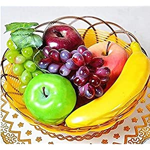 JKing Artificial Plastic Realistic Looking 6 Mixed Fruits Simulation Plastic Decorative Fruits Display Creative Home Decor/Teaching /Photography Props 52