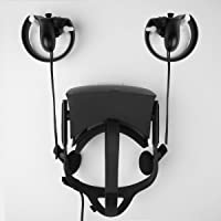 MIDWEC Mount and Organizer for Oculus Touch and Oculus Rift Helmet-black color