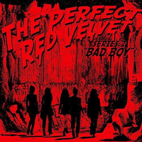 Book Red Poster (RED VELVET - The Perfect Red Velvet (Repackage Album) CD+Photobook+Folded Poster+Extra Photocards Set)