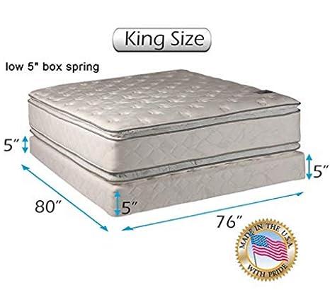 Amazon.com: Dream Solutions - Juego de colchón y muelles de ...