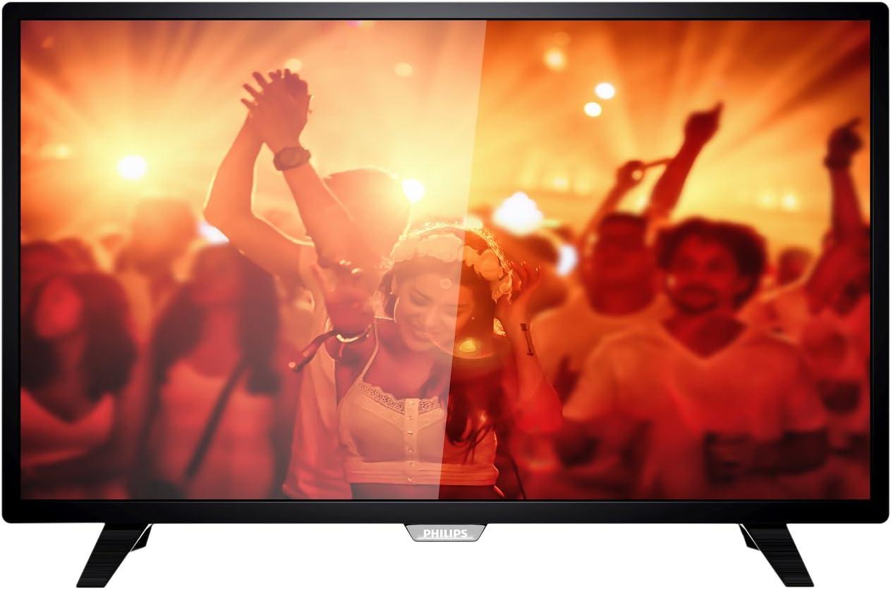 Philips 4000 series - Televisor (IEC, HD, 4:3, 16:9, 1366 x 768 Pixeles), color negro: Amazon.es: Electrónica