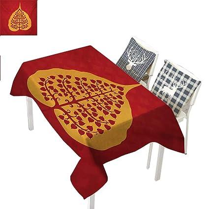 Amazon.com: WilliamsDecor Leaf Picnic Cloth Artistic Design ...