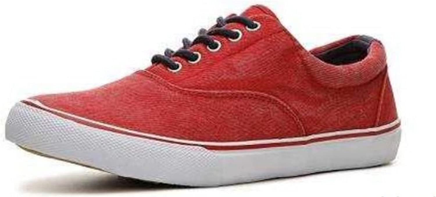 Crevo Misfit Mens Washed Canvas Sneakers Shoes