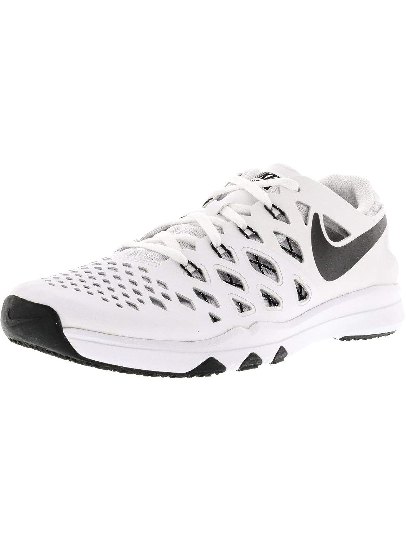 Nike - Pantañones de Running para muñer blanco negro