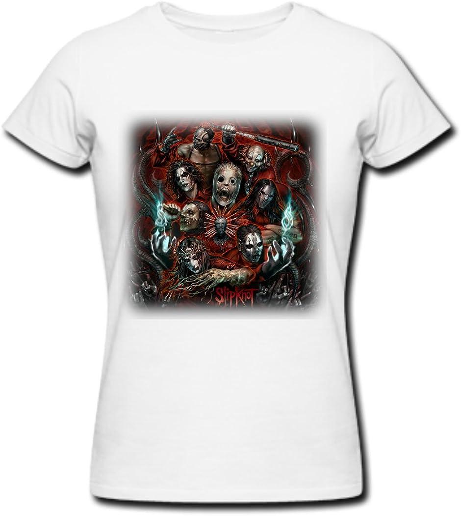 TQQ - Camiseta para Mujer (Talla S), Color Blanco: Amazon.es ...