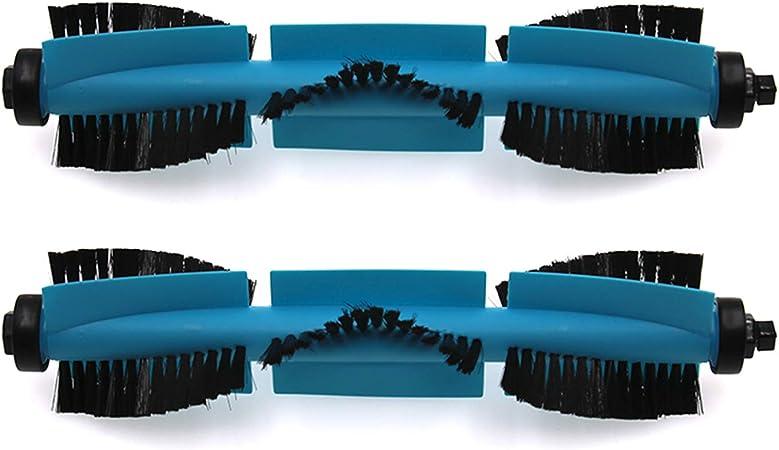 Zealing Paquete de 2 Cepillo Principal para Cecotec Conga 3490 Elite robótica aspiradora recambios: Amazon.es: Hogar