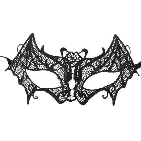 Máscara de Catwoman de la moda Negro Recorte de novia sexy de Halloween Masquerade Máscara de