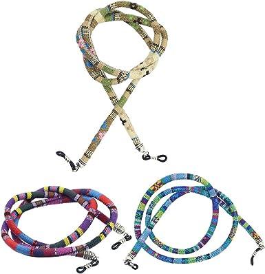 MagiDeal Cuerda para Gafas Cordón Grueso de Algodón Estilo Étnico ...