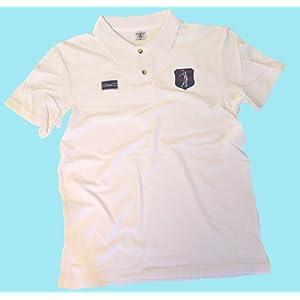 VIA PRINT Polo maille piquŽe coton Enfant Blanc Tailles L GOLF Pocket