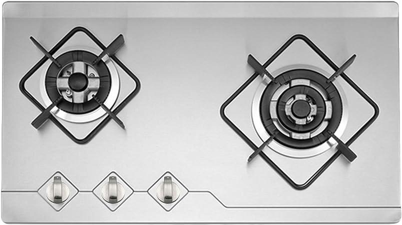 INDESIT Fornello Piano Cottura Forno//// Nero//Inox MANOPOLE /& ADATTATORI per vedere i dettagli