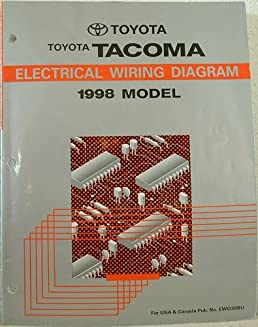 1998 toyota tacoma electrical wiring diagram manual toyota motor Nissan Titan Electrical Wiring Diagram 1998 toyota tacoma electrical wiring diagram manual toyota motor corp amazon com books