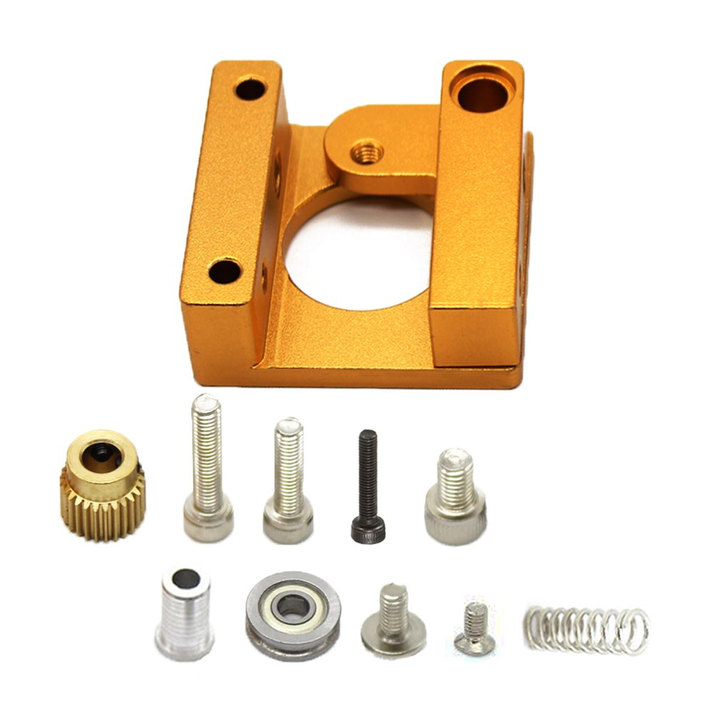 Zzanggu® Impresora 3D MK8 extrusor marco de aluminio bloque DIY ...