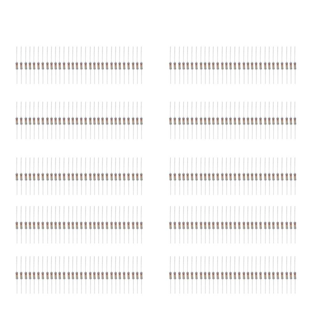Kohle Folie Widerstand Widerstände Sortiment Kit Set Verschiedene Werte Und
