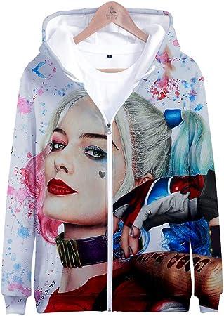 ✅ Producto: traje de TV Harley Quinn Birds of Prey, nuevos suéteres de ropa impresos en 3D para dife