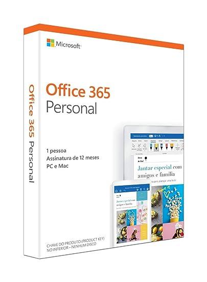 1e6bdd44a Office 365 - Personal 12 Meses De Assinatura 1 Pessoa - PC  Amazon.com.br   Games