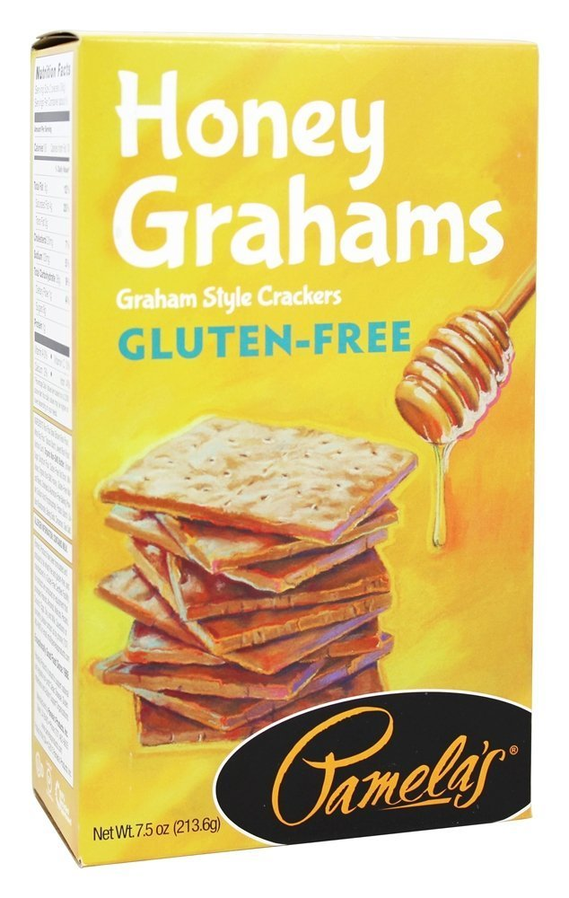 Pamela's Products -  Graham Crackers Honey - 7.5 Ounce (Pack of 2) by Pamela's Products