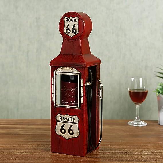 HSRG - Botellero de Hierro Retro para decoración de salón o ...