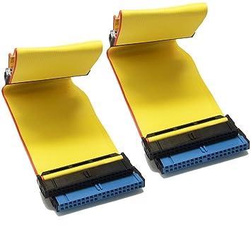 SIENOC IDE ATA 40 Pin 80 wire PATA/EIDE/IDE Hard Drive DVD Ribbon ...