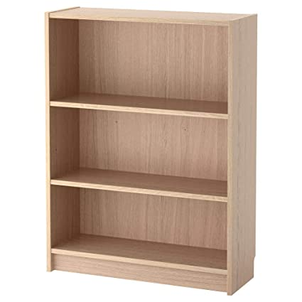 Amazon.com: IKEA ASIA Billy Bookcase, White Stained Oak ...