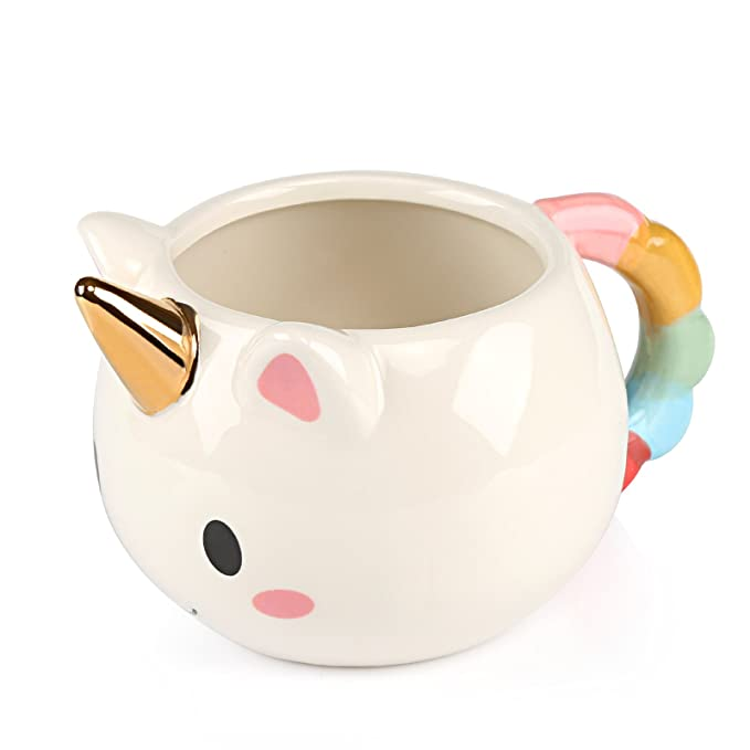 Tazas de Unicornio de Ceramica