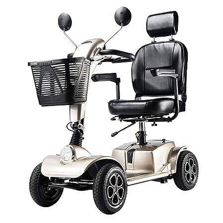Amazon.com: Silla de ruedas plegable y portátil con ...