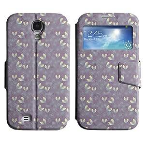 LEOCASE hojas lindo Funda Carcasa Cuero Tapa Case Para Samsung Galaxy S4 I9500 No.1007090