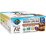 Garden of Life Organic Fit Bar, Peanut Butter Chocolate, 12 Count