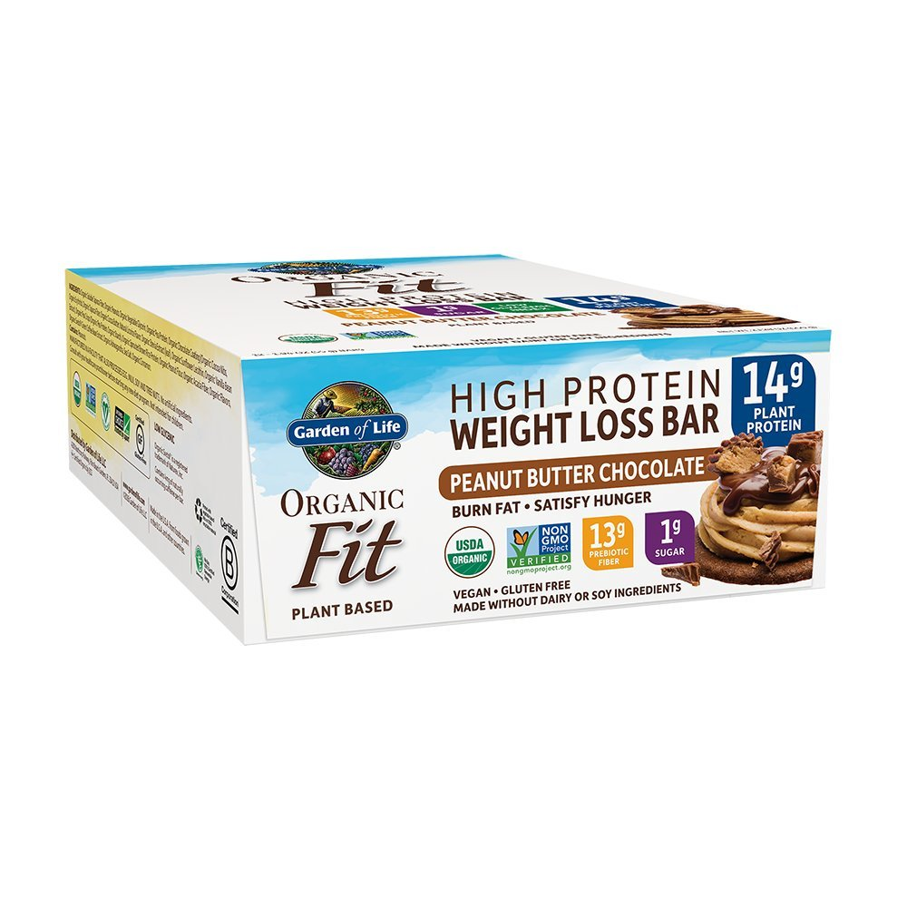 Garden of Life Organic Fit Bar Peanut Butter Chocolate (12 per carton) by Garden of Life