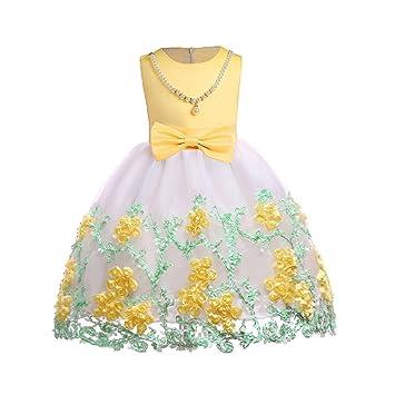 ee155e92eca8f 子供ドレス ワンピース 女の子 子供服 YOKINO ベビードレス バレンタインデー レ キッズドレス レース チュール