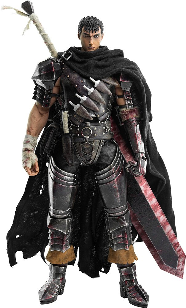 ベルセルク Guts (Black Swordsman) 1/6スケール ABS&PVC&POM製 塗装済み可動フィギュア B019EZENA4