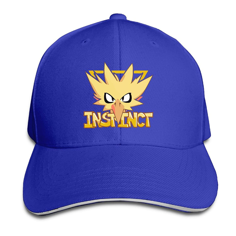 FOODE Instinct Team GO Peaked Baseball Cap Snapback Hats