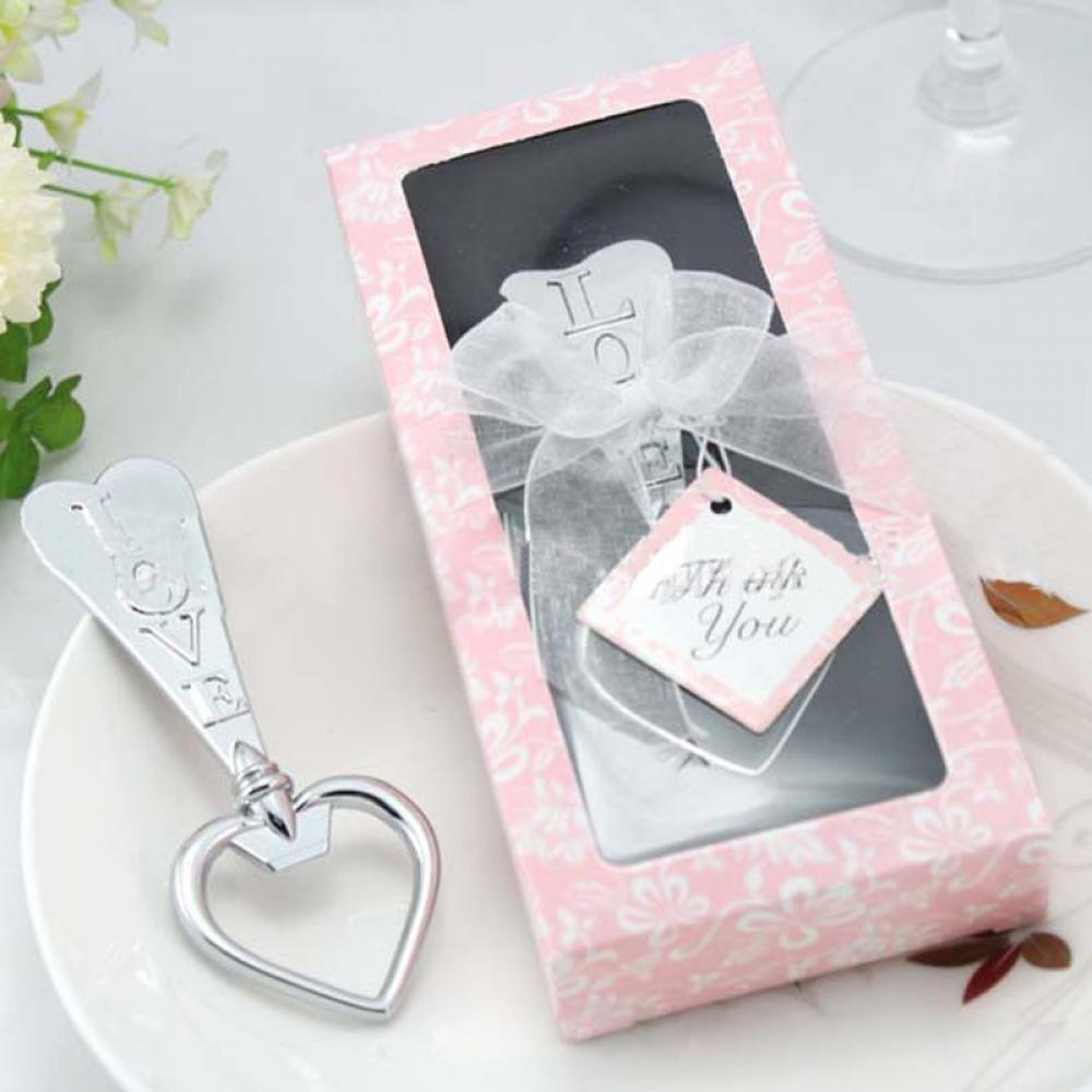 Lonngzhuan 20pcs Creative Party Fashion Wedding Favor Gift Wine LOVE Bottle Opener with Box Corkscrew