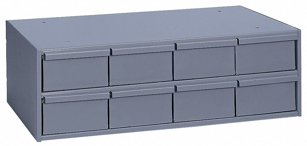 DURHAM Modular Cabinet -22-3/4x11-5/8x7-3/8'' - (8) 5-3/8x11-1/4x2-3/4'' Drawers by Durham (Image #1)