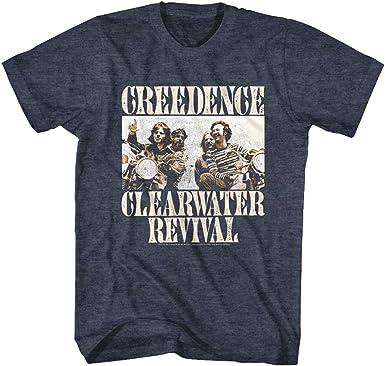 Creedence Clearwater Revival American Rock Band Bikes - Camiseta de manga corta para adulto