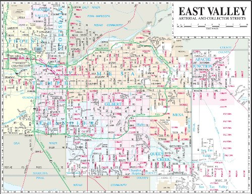 East Valley Arterial and Collector Streets Desk - Tan San Gilbert