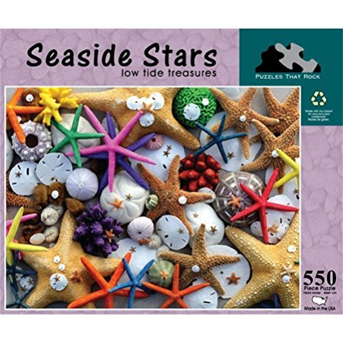 (Seaside Stars, Low Tide Treasures 550 Piece Puzzle)