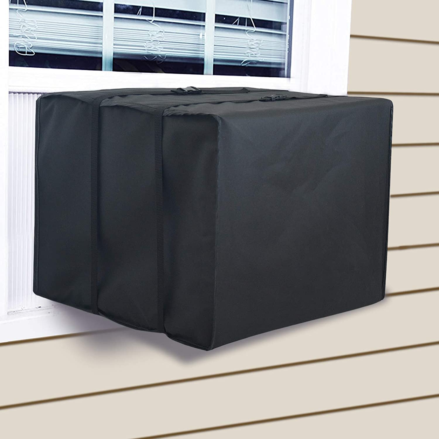 Vinyl Outside Window AC Air Conditioner Cover for Small Units Up to 7000 BTU