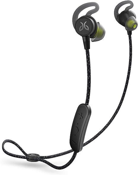 Jaybird Tarah Pro Kabellose In Ear Kopfhörer Mit Mikrofon Bluetooth Schweißbeständig Und Wasserdicht 14 Stunden Akkulaufzeit Silikon Gelkissen Smartphone Tablet Ios Android Schwarz Grün Elektronik