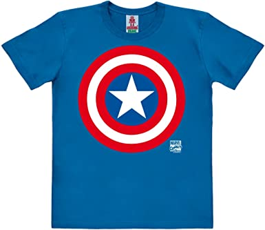 Logoshirt Marvel Comics - Superhéroe - Capitán América Logo ...