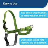 PetSafe Easy Walk Dog Harness, No Pull Dog Harness, Black/Silver, X-Large