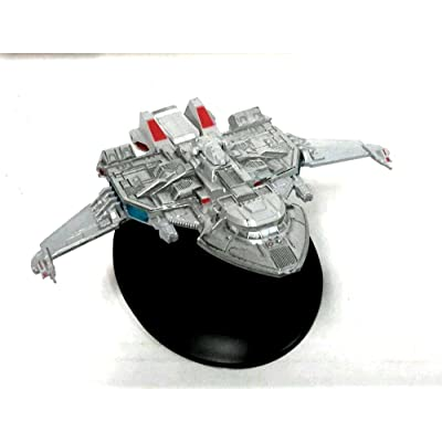 #28 Star Trek MAQUIS RAIDER Die Cast Ship-Eaglemoss w Magazine: Toys & Games