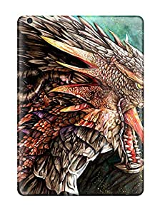 Paul Jason Evans's Shop New Style 8210931K59258480 Hot Design Premium Tpu Case Cover Ipad Air Protection Case(earth Dragon)